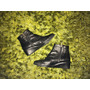 Botines 16 Hrs De Cuero Zapato Botín Negro