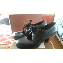 Zapatos Profesionales De Flamenco Marca Senovilla 36,5 Aa