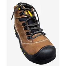 Zapato Botin De Trabajo De Hombre 100% Cuero Legitimo