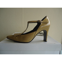 Zapatos Gacel Nº 35,5 Charol