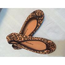 Zapatos Ballerinas Chinitas Mujer Color Leopardo Numero 38