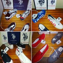 Liquidacion De Zapatos Deportivos Polo Americanos Originales