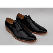 Zapatos Cuero Charol, 100% Cuero, Exclusivo, Talla 42