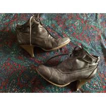 Lindos Botines Café Botas Zapato Calzado Top