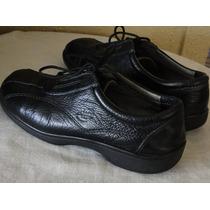 Zapatos Hush Puppies Cuero Negro N°35.