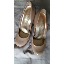Zapatos Mujer Talla 6.5 A 7 Tacos Nude Beige Jessica Simpson