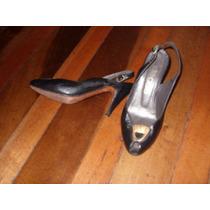 Regalo!!! Zapatos N°35 1/2, Degas Decuero/suela,.