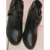 Forever 21, Botines, Botas, Zapatos Nº 37, Negros, Nuevos