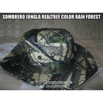 Sombrero Outdoor Camuflaje Mimetismo Jungla Realtree Rainfor