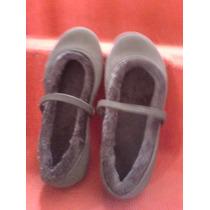Sandalias Crocs De Niña Color Negras Con Chiporro