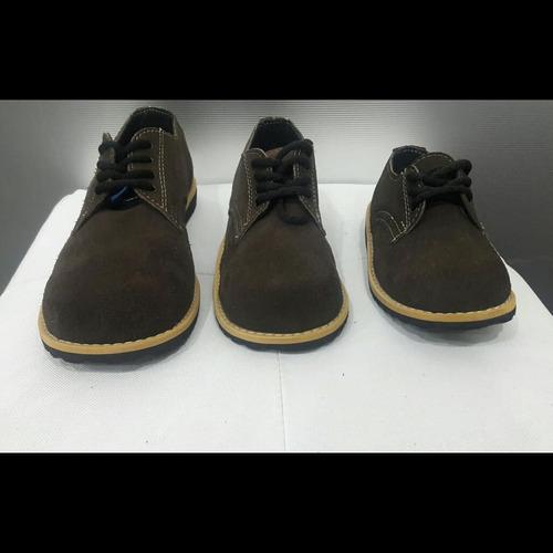 calzados niños y juvenil,  casuales  cuero gamuzado 26 al 40