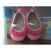 Zapatillas Para Bebé Niña Carters. Talla 2