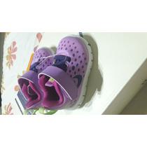 Zapatos Nike Talla 17 Para Bebe Niña 100% Original