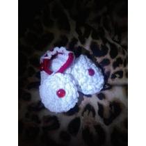 Sandalias Tejidas Crochet Para Bebe