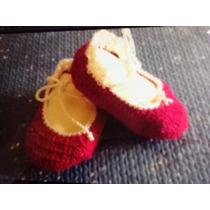Zapato Tejido Bebes Niña