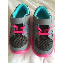 Zapatos Nike Deportivos Para Niñas Talla 9 Americana