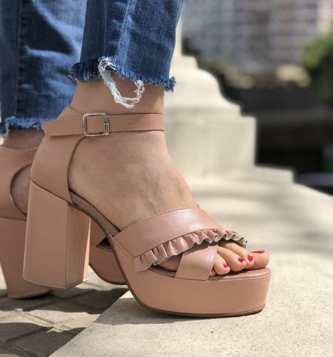 calzados sandalias zapatos plataformas  números 41 42 43 44