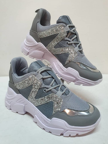 calzados zapatos damas suela alta deportes moda mujer import