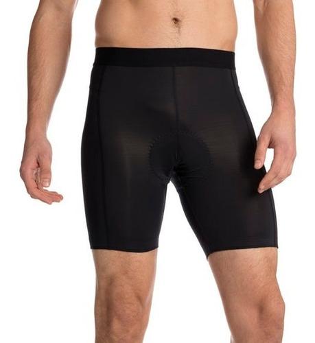 calzas cortas compresión ciclismo y spinning-con protector