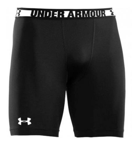 calzas cortas shorts compresión hombre under armour heatgear