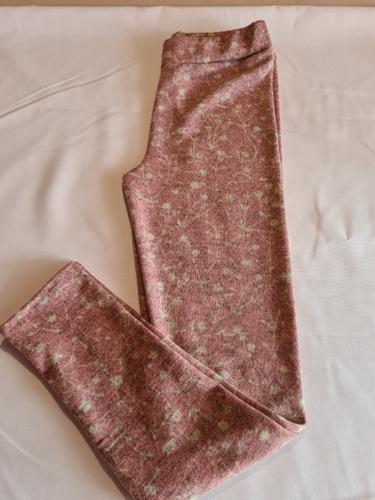 calzas de niña en modal y lanilla estampada talles 14 y 16