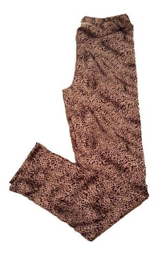 calzas de niña en modal y lanilla estampada talles  2 al 12