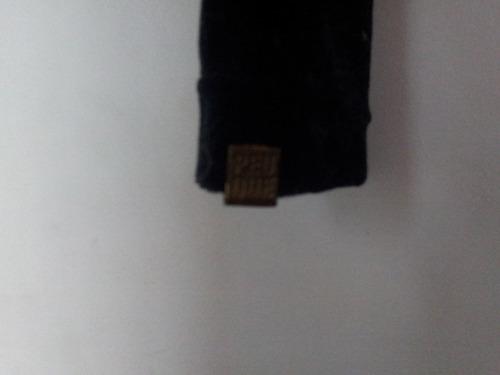 calzas de terciopelo negro marca peuque hago envios nuevas!!