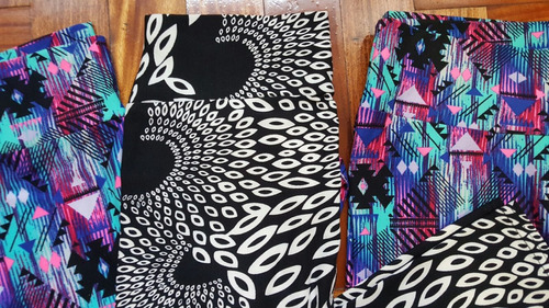 calzas deportivas con diseño importados