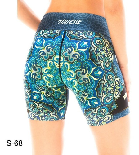 calzas deportivas mujer short touche ropa s 68