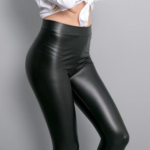 calzas leggin engomadas chupin negro