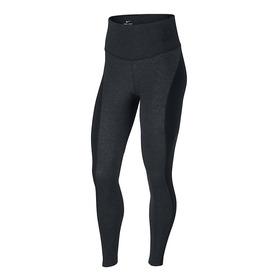 Calzas Nike Power Mujer Negro/gris