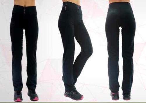 calzas rectas de lycra talles grandes y especiales t.1 al 7