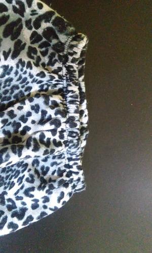 calzas térmicas 2 años animal print