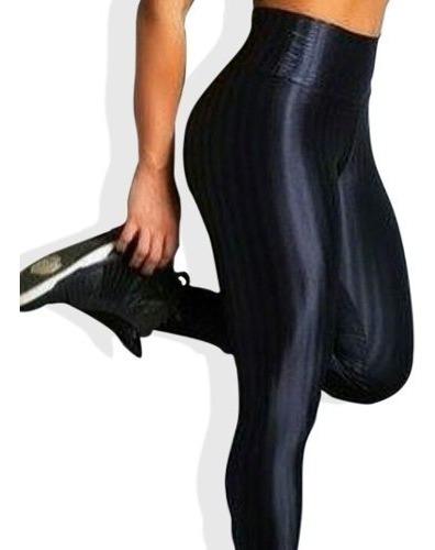 calzas tiro alto pretina fit deportiva brasileña elasticada