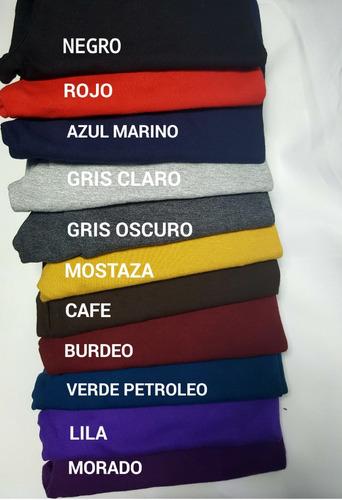 calzas torero/ pretina alta/ algodon/ colores / nacional