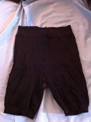 calzón reductor pantaleta negro talla 38