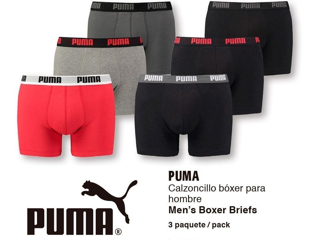 calzoncillos puma hombre boxer