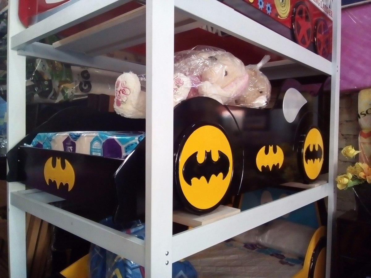 Cama 1 1/2 Modelo Carro Batman Niño Para Bebe ( Nuevo ) - S/ 1.590 ...