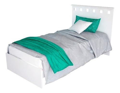 cama 1 plaza + chifonier + mesa de luz + placard 6 puertas