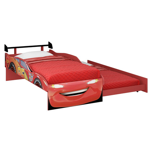 cama 1 plaza disney 13150 bicama cars rojo