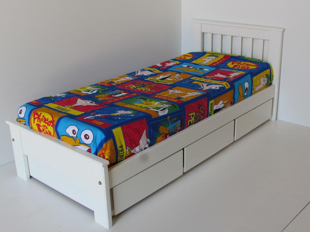 Camas con cajones abajo camas con cajones cama plaza con abajo colchones y estantes todo para - Cama con cajones abajo ...