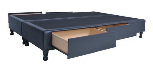 cama 2 cajones, plaza y 1/2, 100 x 190 cm entrega sin cargo*