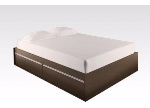 cama 2 plazas con 4 cajones+ envío sin cargo capital federal