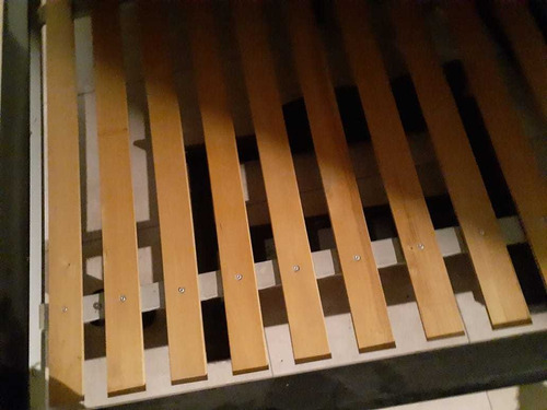 cama 2 plazas madera