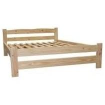 cama 2 plazas pino macizo. no hago envios