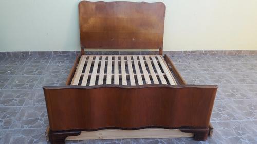cama 2 plazas usada 1.40 x 1.90 mts. desarmable!