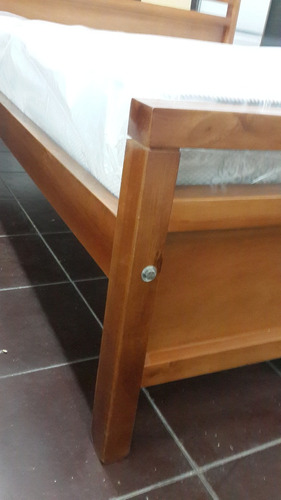 cama 2 plazas100% madera maciza , artico