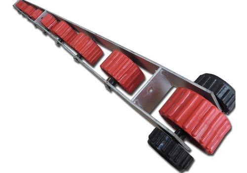 cama 9 rodillos  para trailer nautico lancha / bote