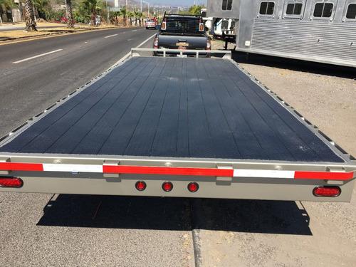 cama alta remolque nuevo tipo plataforma, cama alta,3 ton
