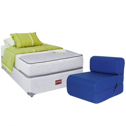 Cama americana 1 plaza celta atlantis sill n cama for Sillon cama 1 plaza plegable